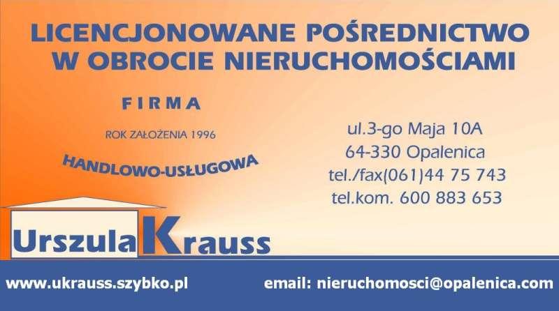 Biuro Obrotu Nieruchomościami - Urszula Krauss