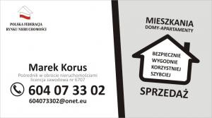 Korus Nieruchomości Agencja Obrotu Nieruchomościami MAREK KORUS
