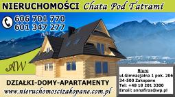 Chata pod Tatrami